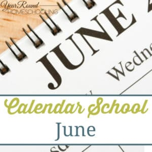 Calendar School - June - By JennySQ