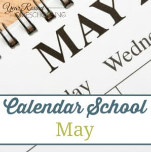 Calendar School - May - By JennySQ