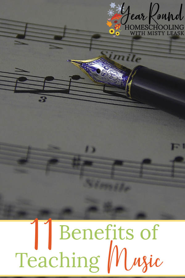 teaching music, benefits of teaching music