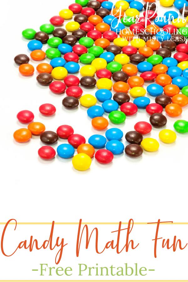 candy math fun, candy math activities, candy math printable