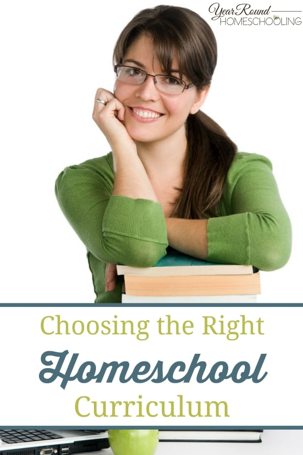 Choosing the Right Homeschool Curriculum - By Rhonda