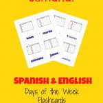 Spanish Days of the Week - Year Round Homeschooling