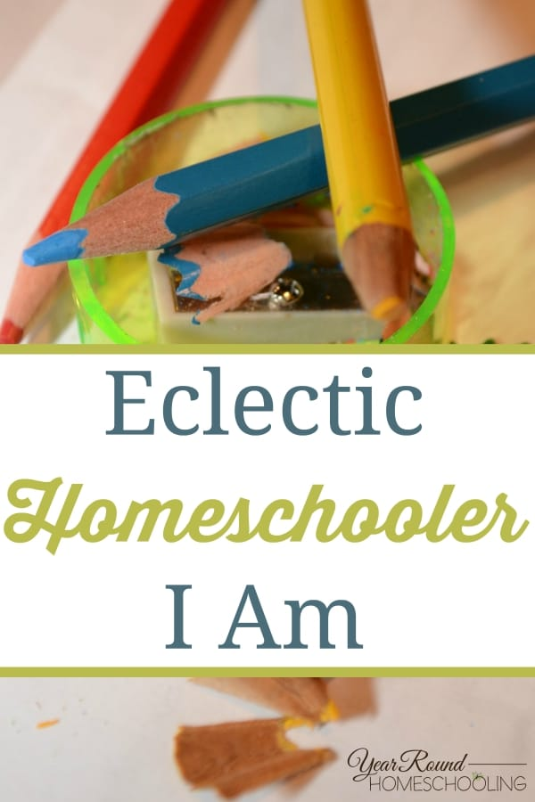 Eclectic Homeschooler I Am - By Annette V.