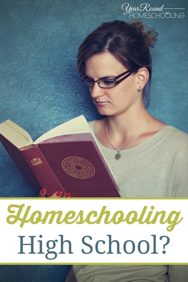 Homeschooling High School - By Trisha
