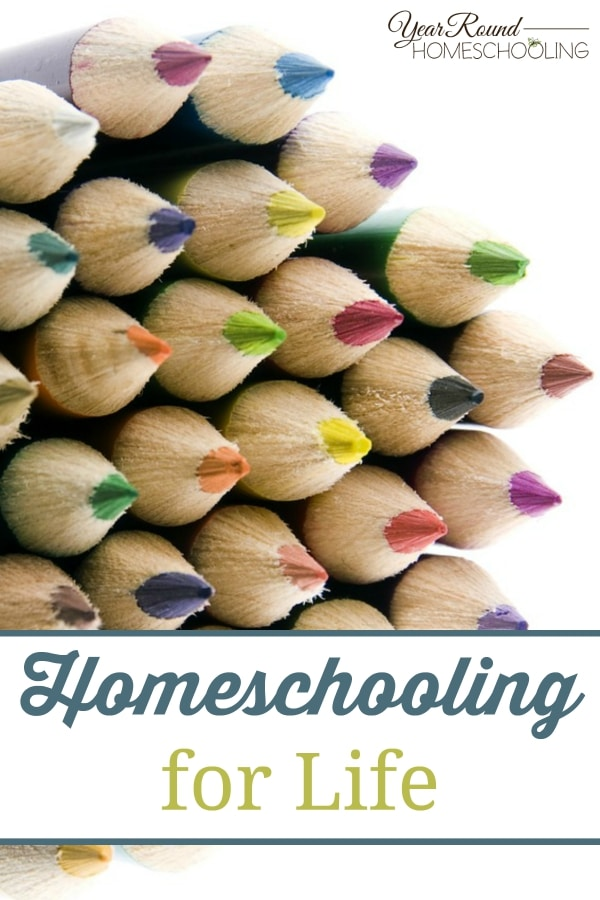 Homeschooling for Life - By Trisha