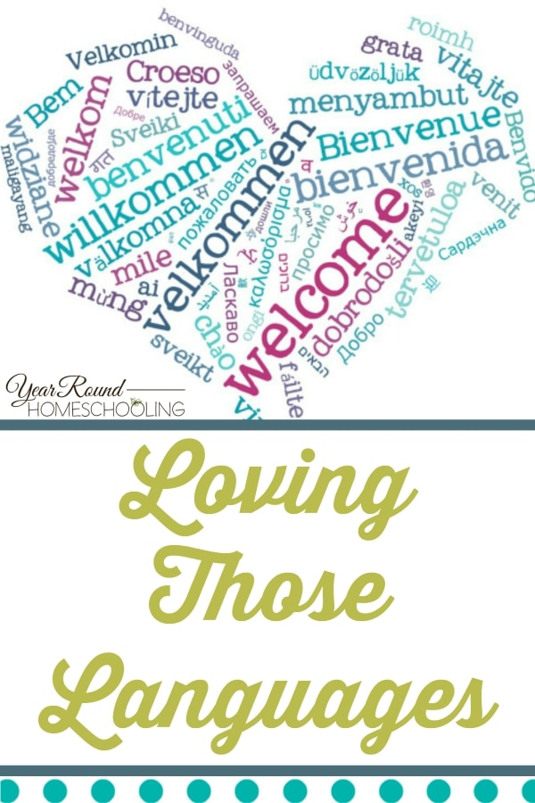 Loving Those Languages - By Jennifer K.
