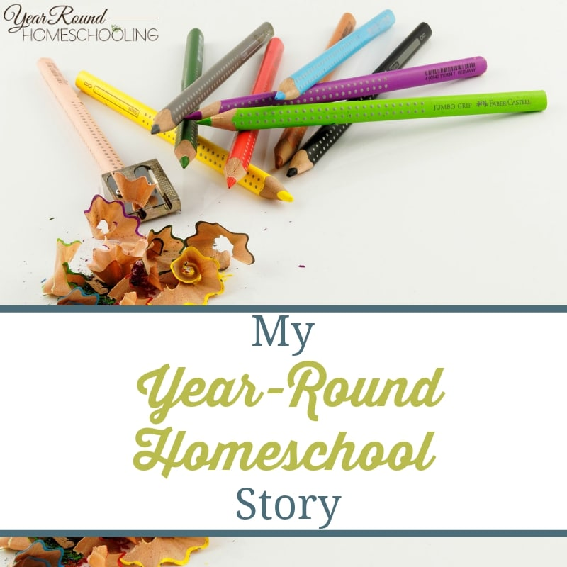 My Year-Round Homeschool Story