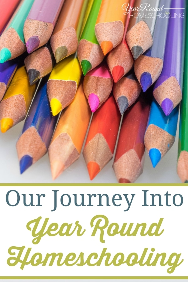 Our Journey Into Year Round Homeschooling - By Jenny