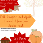 FREE Fall, Pumpkin and Apple Themed Adventure Pack