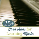 25+ {free} Apps for Learning Music