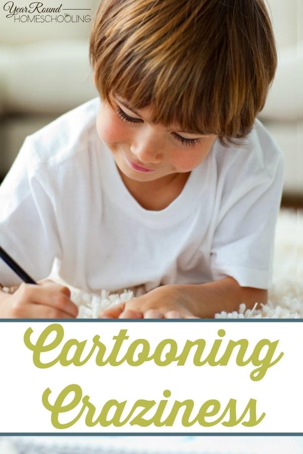 Cartooning Craziness - By Jennifer K.