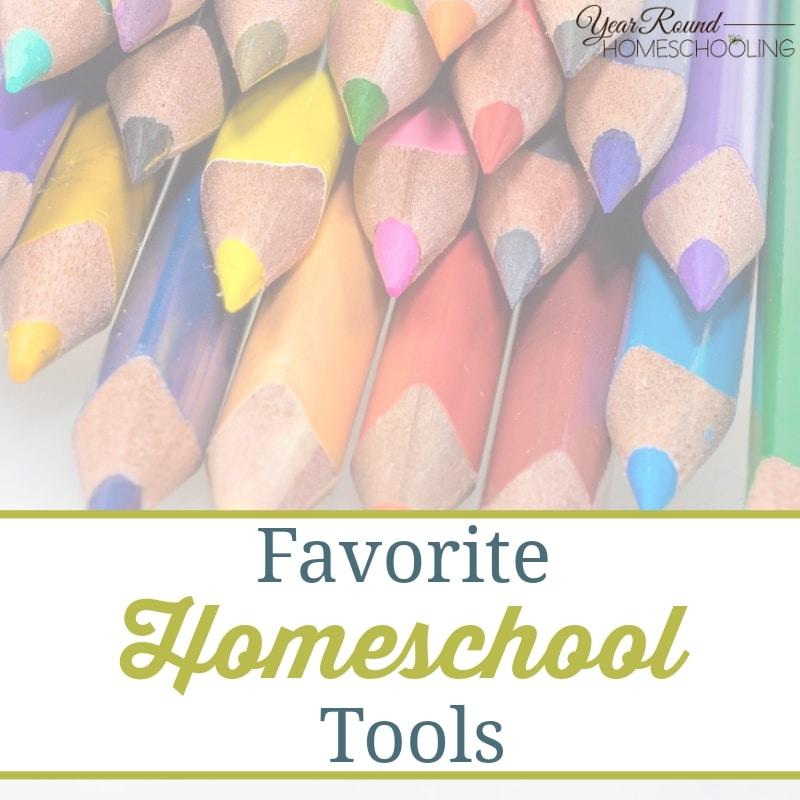 Favorite Homeschool Tools