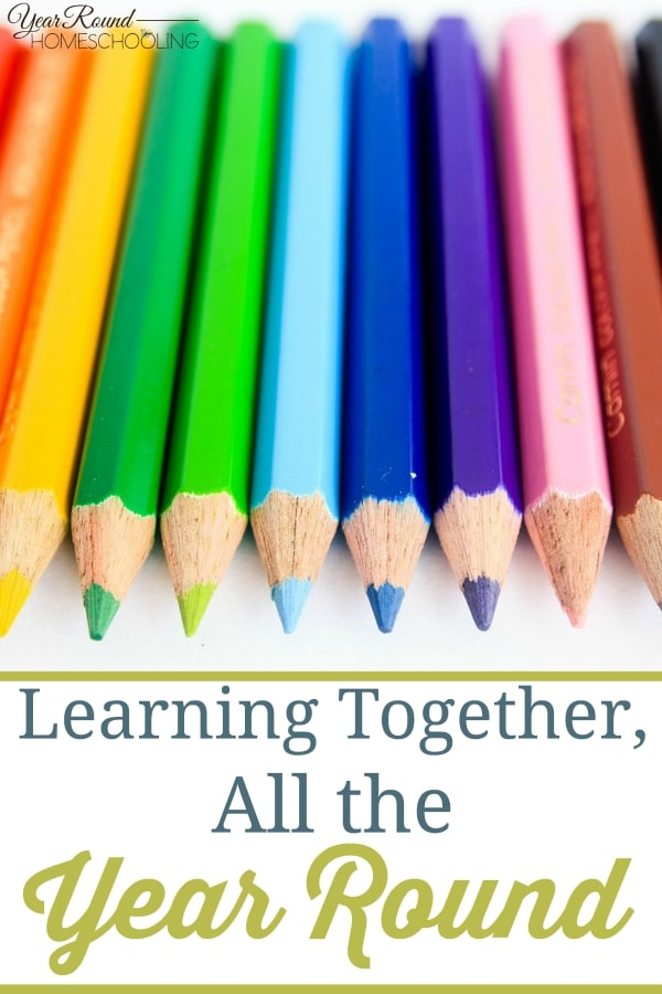 Learning Together, All the Year Round - By Jennifer H.