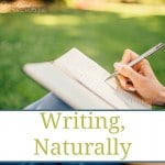 Writing, Naturally