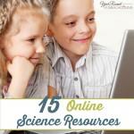 15 Online Science Resources