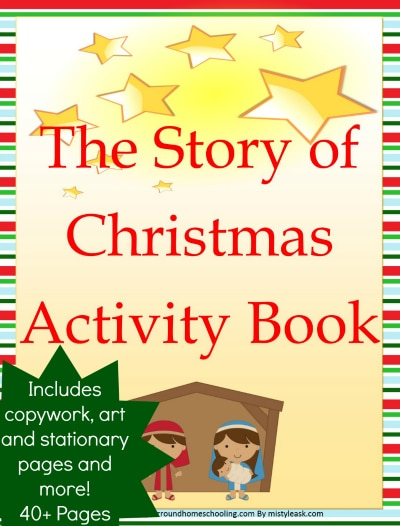 With more than 40 pages of the story of Christmas learning fun!