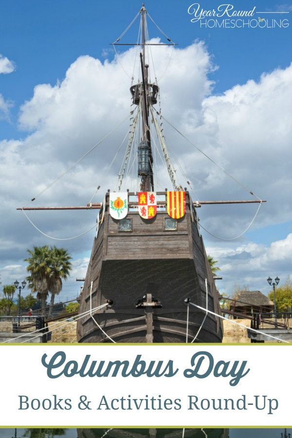 Columbus Day Books & Activities Round-Up - By Keri