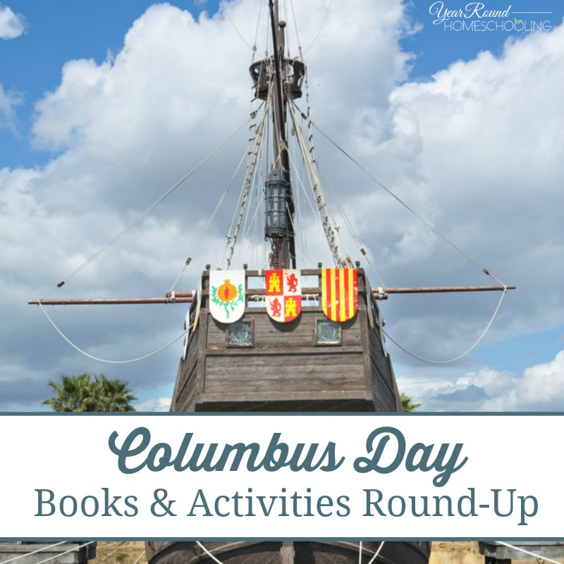Columbus Day Books & Activities Round-Up