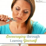 Encouraging through Learning Yourself