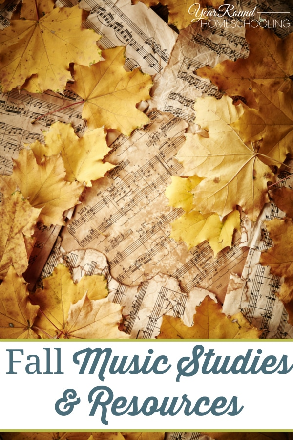 Fall Music Studies & Resources - By Annette