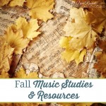 Fall Music Studies & Resources