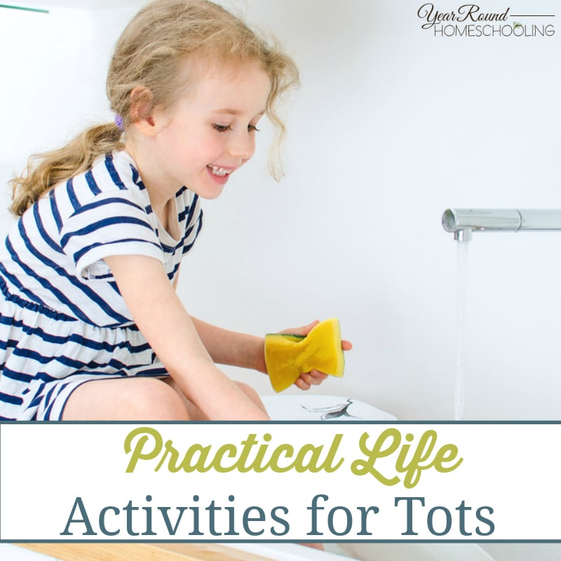 Practical Life Activities for Tots