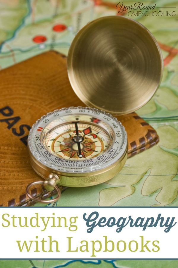 Studying Geography with Lapbooks - By Sara