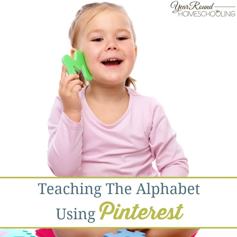Teaching The Alphabet Using Pinterest
