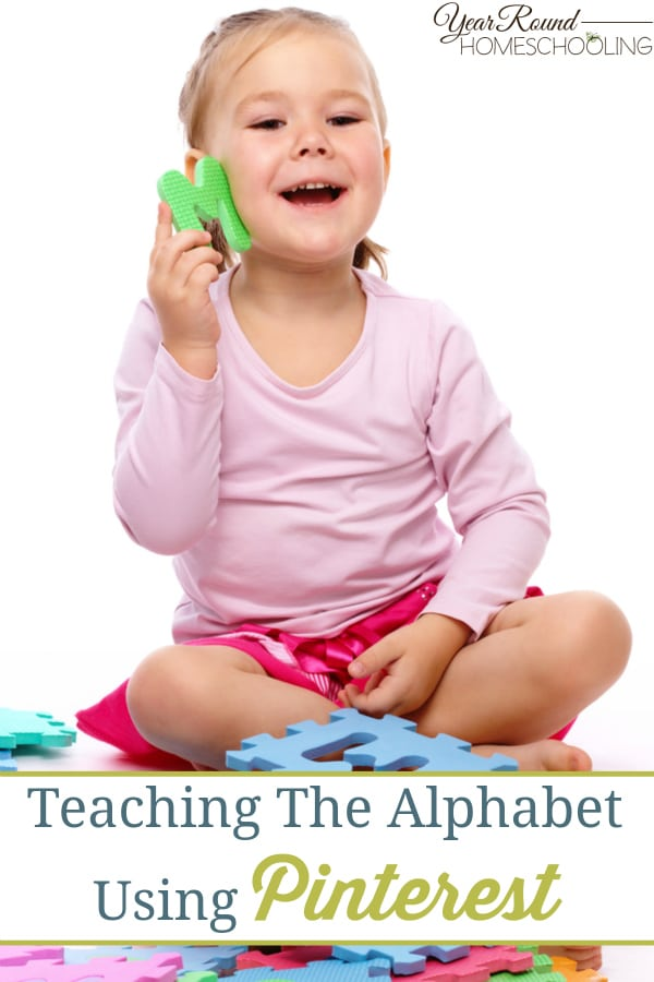 Teaching The Alphabet Using Pinterest - By Alecia