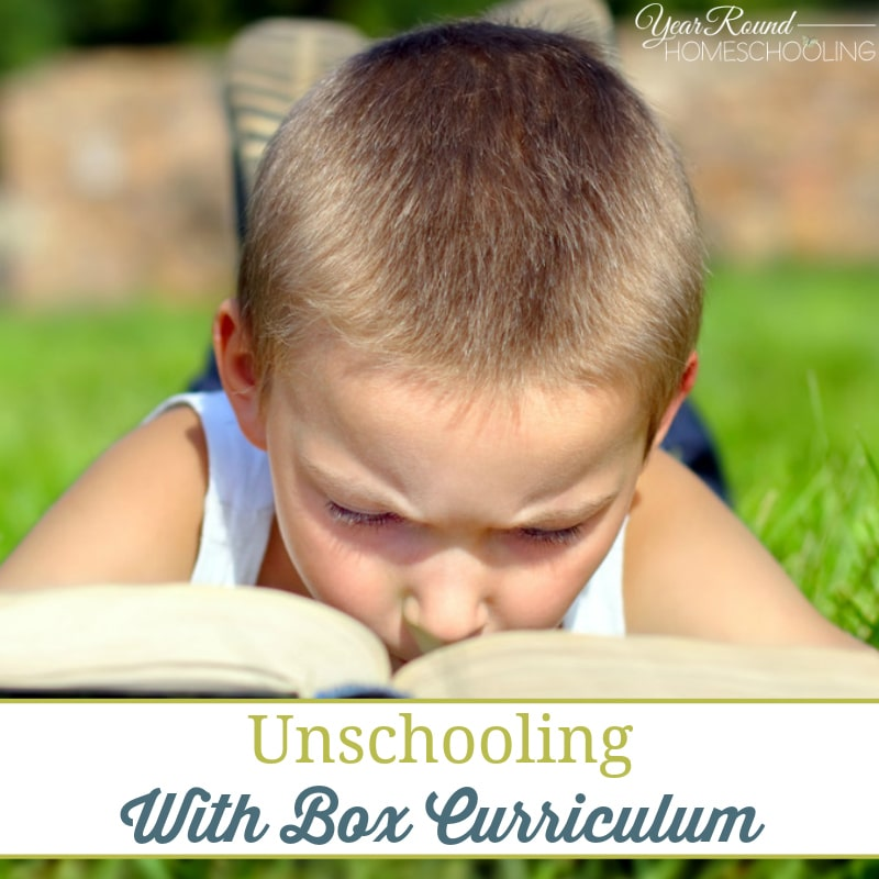 Unschooling With Box Curriculum
