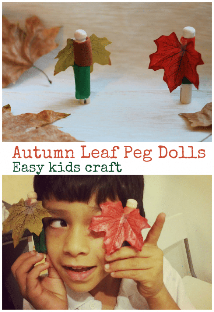 autumn peg doll
