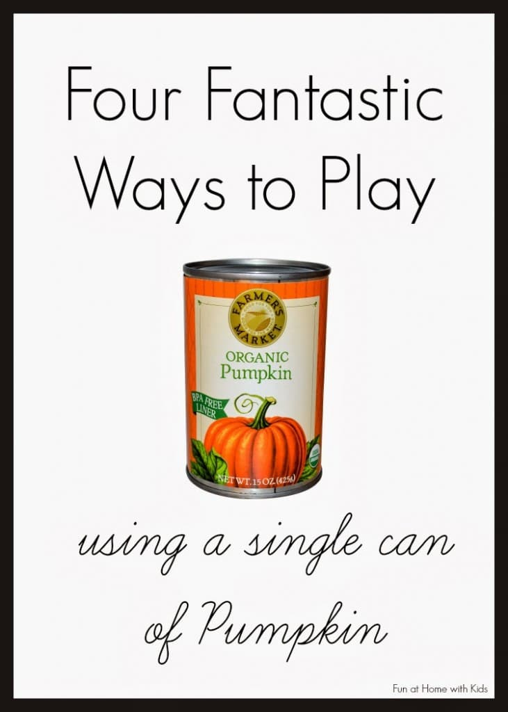 sensory play from pumpkin