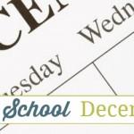 Calendar School – December