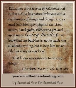 Charlotte Mason's Twelfth Principle