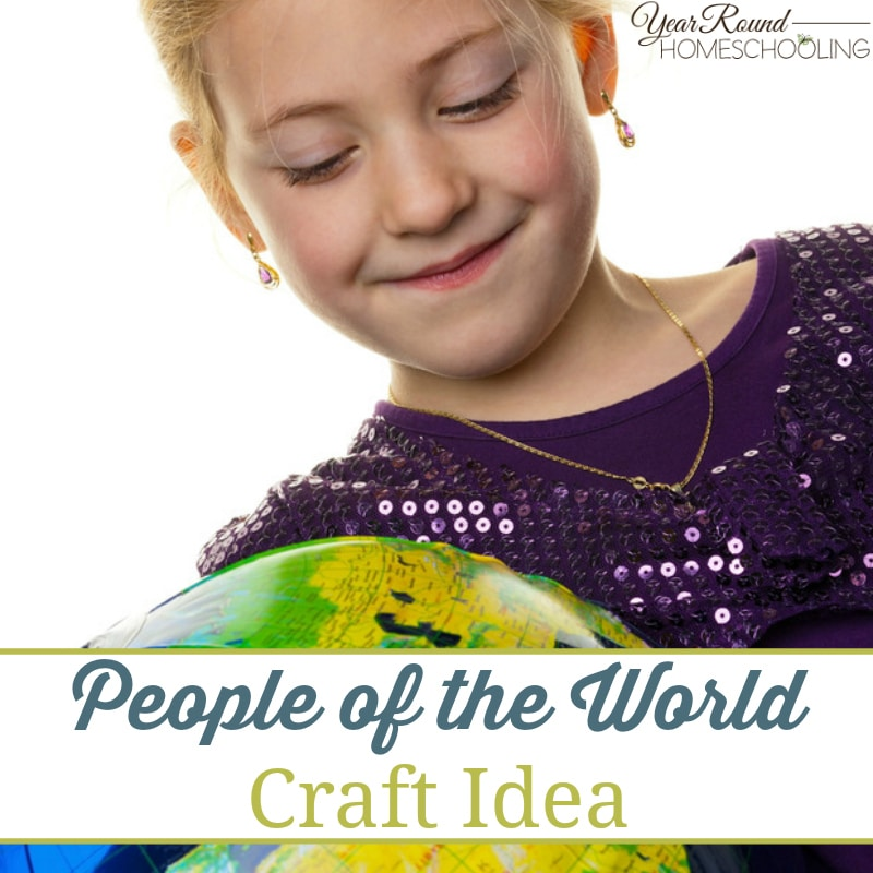 People of the World Craft Idea