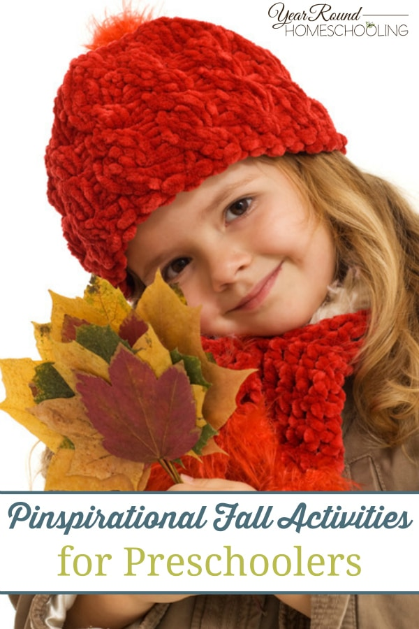 Pinspirational Fall Activities for Preschoolers - By Alecia