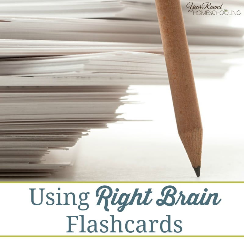 Using Right Brain Flashcards