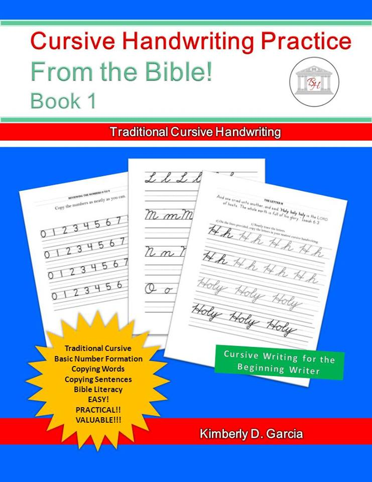cursive handwriting practice from the bible for beginners year round homeschooling. Black Bedroom Furniture Sets. Home Design Ideas