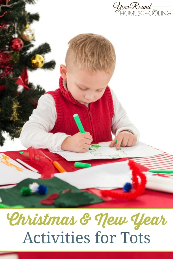 Christmas & New Year Activities for Tots - By Jolene