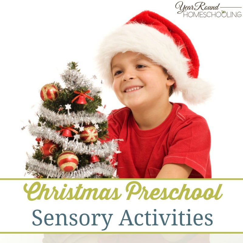 Christmas Preschool Sensory Activities