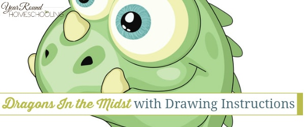 Dragons In the Midst with Drawing Instructions
