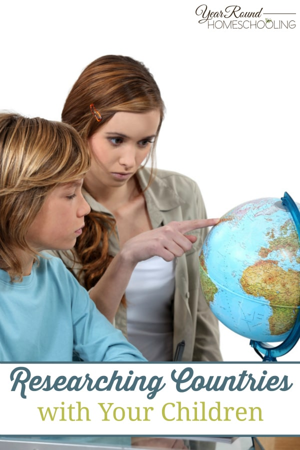 Researching Countries with Your Children - By Nicole