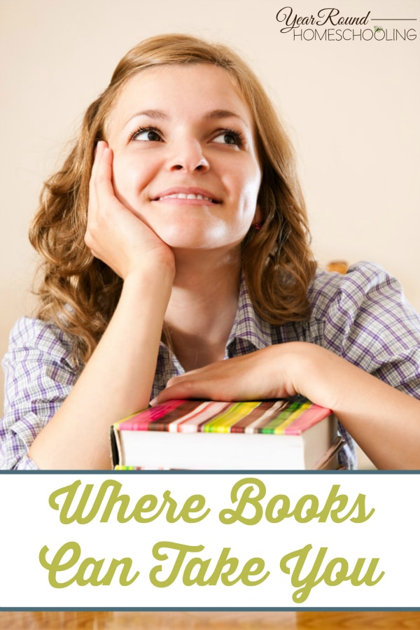 Where Books Can Take You - By Annette V.
