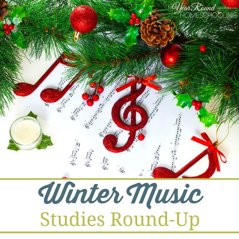 Musical Wallpaper Borders: Winter Music Studies Round-Up
