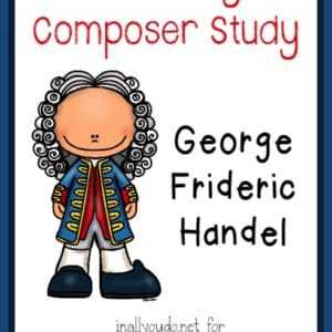 Study a new composer each month!! February's composer is George Handel. Download this FREE Composer Unit Study Pack!! This 10-page pack includes poster page, bio pages, notebooking pages and a timeline page!! :: www.yearroundhomeschooling.com