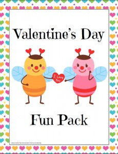 Free Valentine's Day Fun Pack