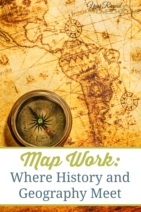map, map work, history, geography, homeschool, homeschooling