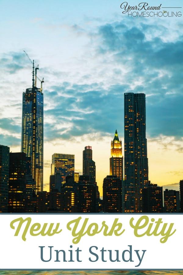 New York City Unit Study - By Selena