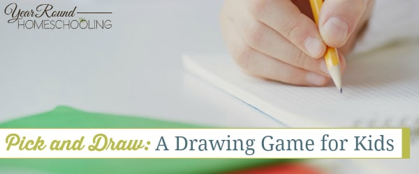 Pick and Draw: A Drawing Game for Kids