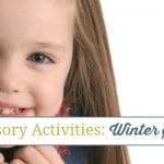Preschool Sensory Activities: Winter Salt Tray